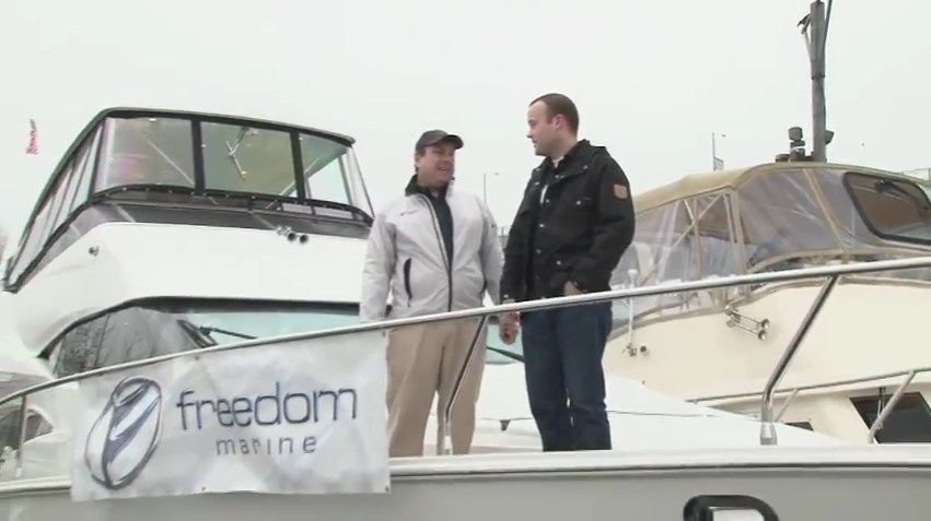 Freedom Marine with Pacific Yachting Magazine