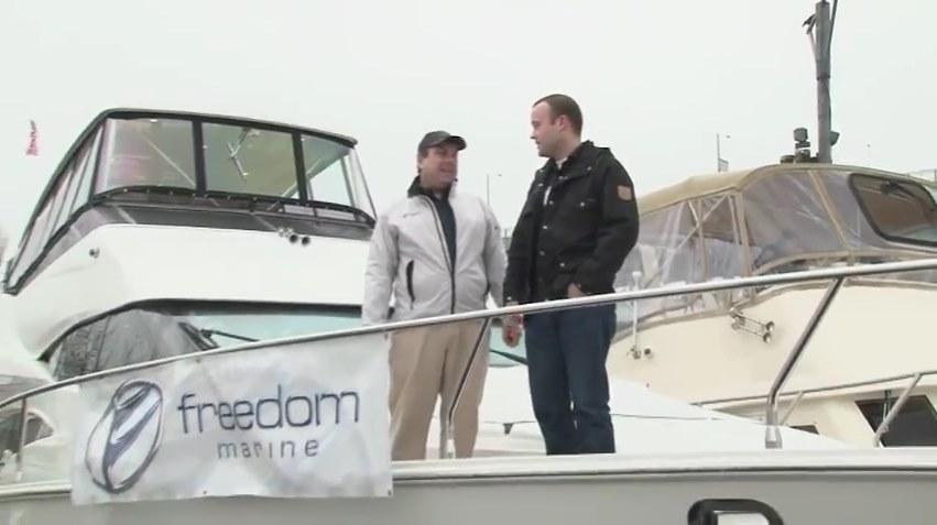 Freedom Marine with Pacific Yachting Magazine