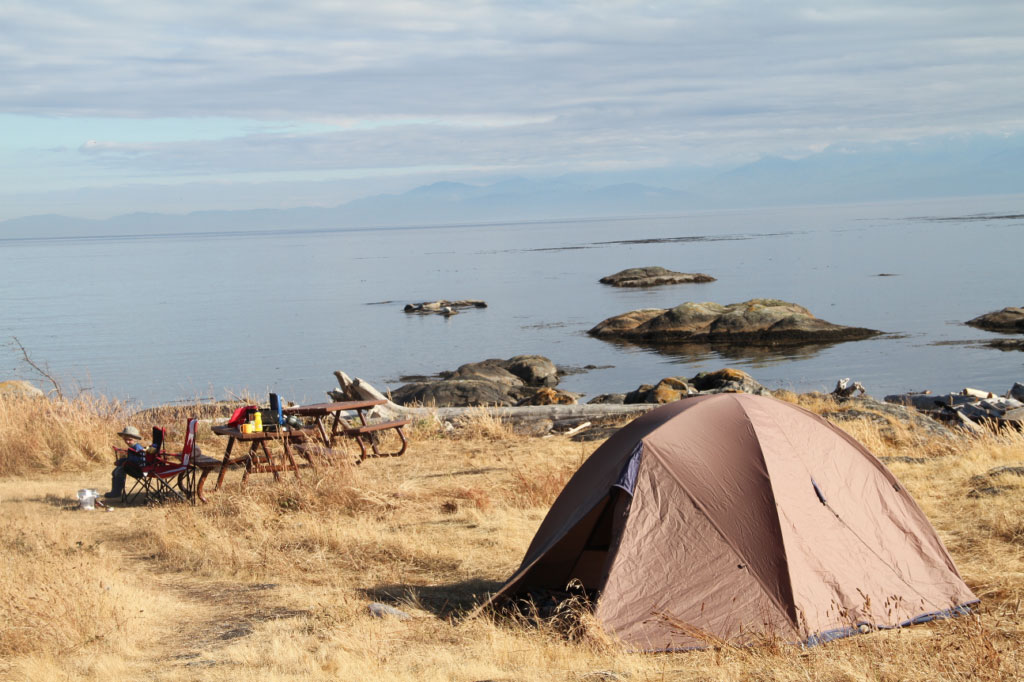 Hornby Island Camping Reviews