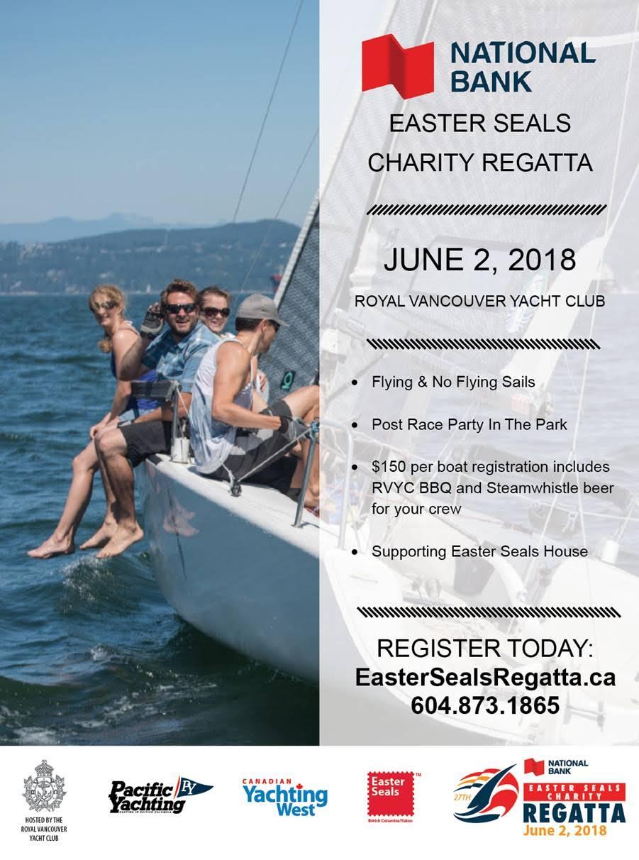 Easter Seals Charity Regatta 2018
