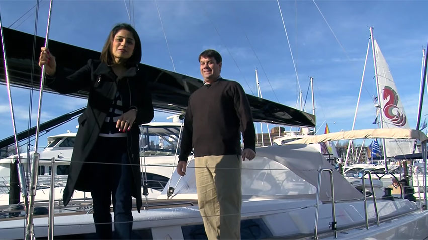 2013 57' Hanse Yacht with Freedom Marine