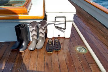 Boots on deck