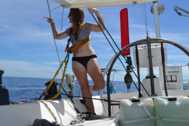 Eimear, Adrian and the South Pacific Flying Fish