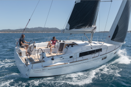 Beneteau Oceanis 38 with Westerly Yachts - Pacific Yachting