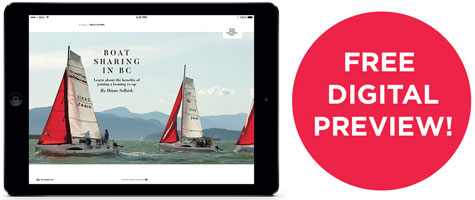 Free Digital Preview of Pacific Yachting!