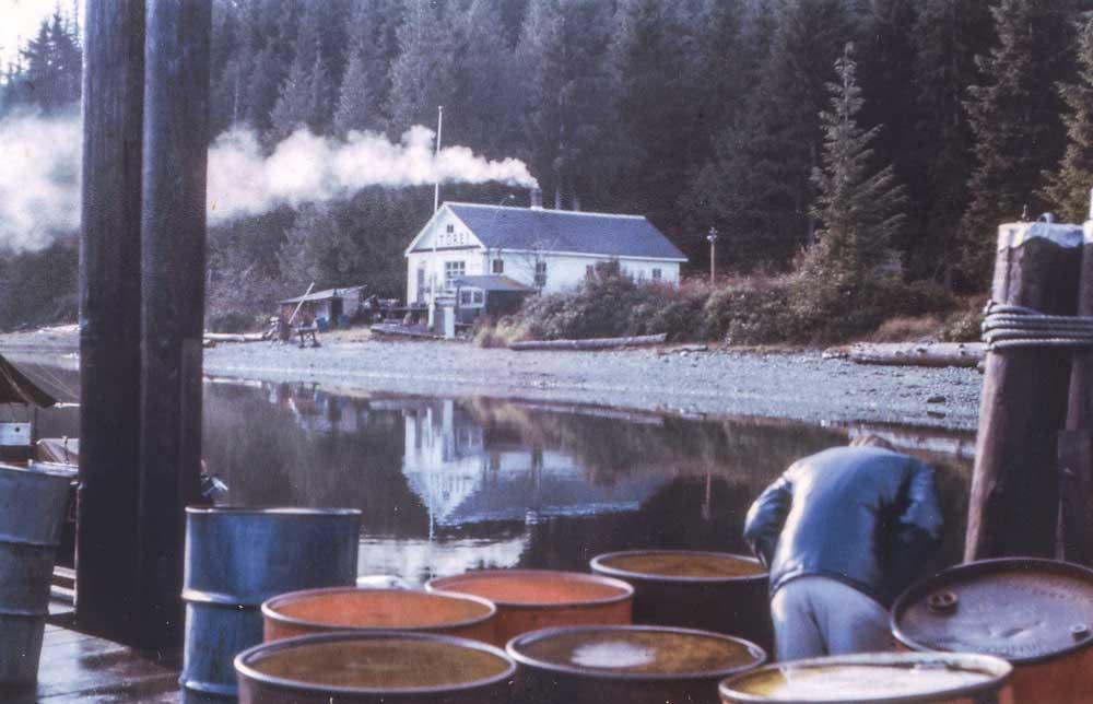 Blind Channel's dock in 1970.