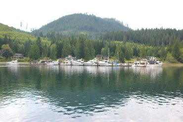 Blind Channel Marina and Resort: the place the Richters built.