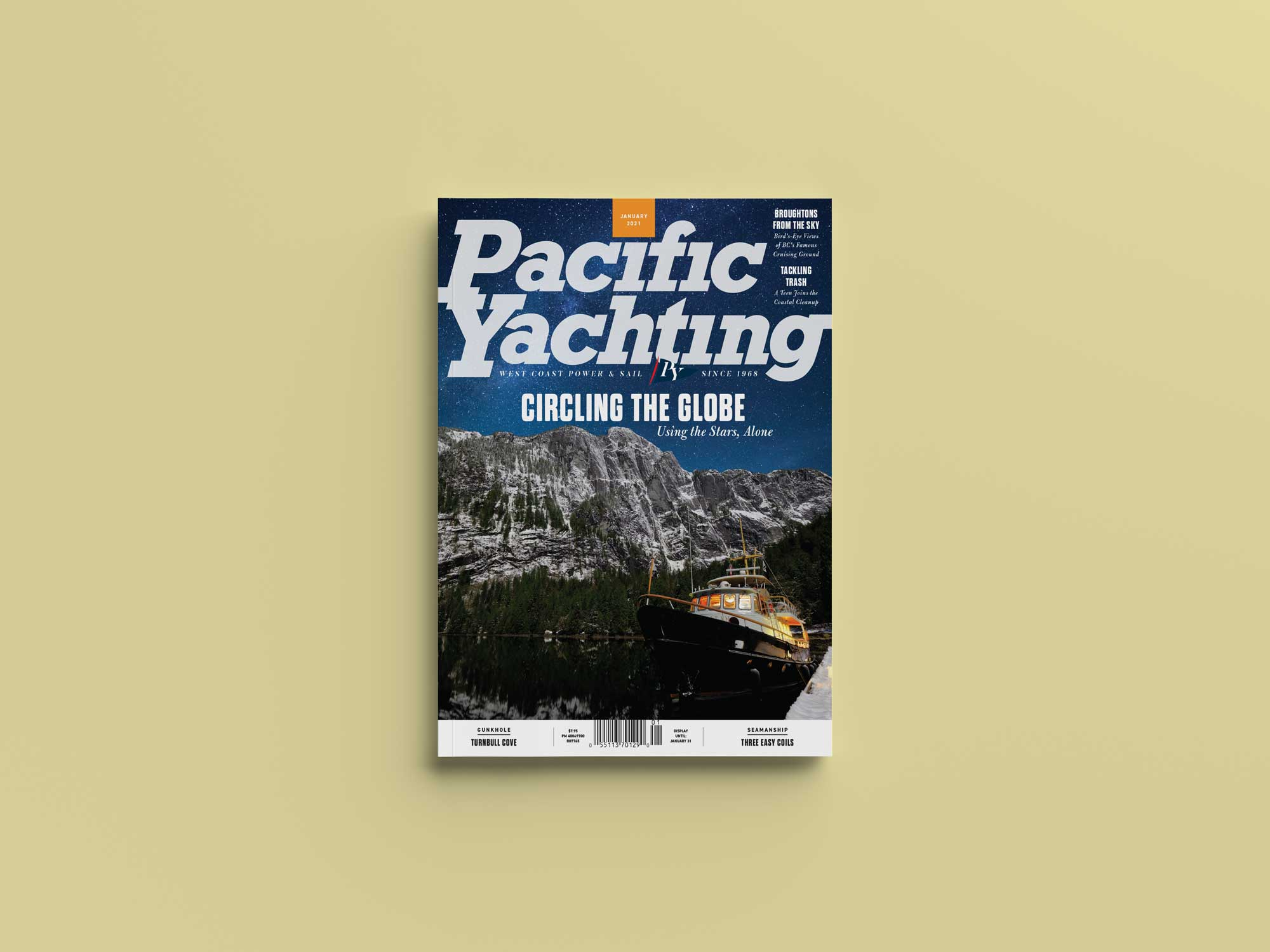 Pacific Yachting January 2021 issue