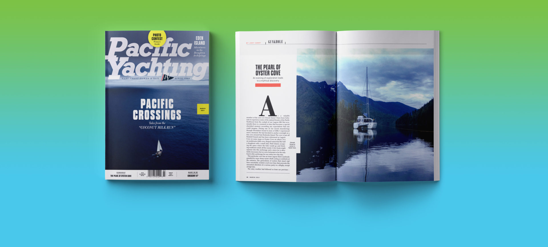 Pacific Yachting March 2021 issue