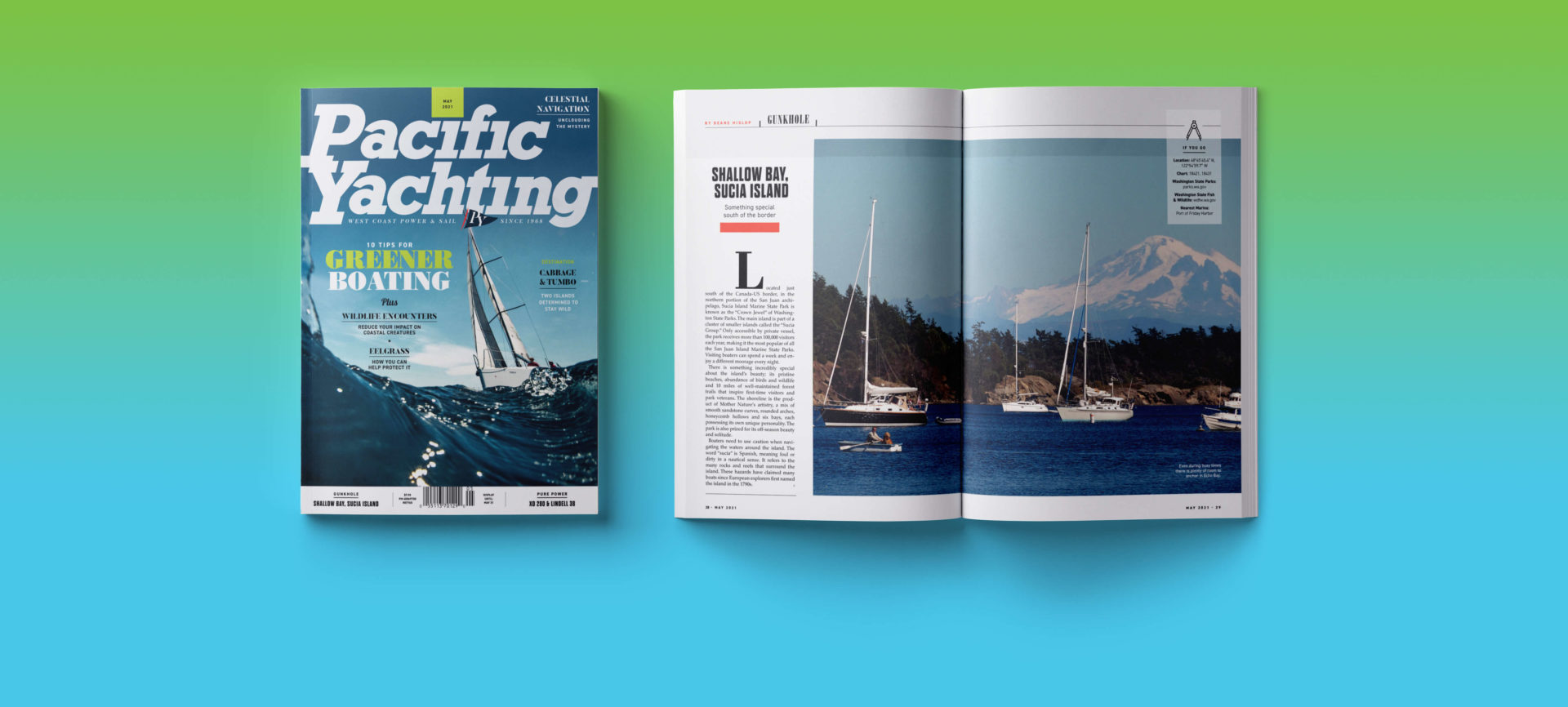 Pacific Yachting magazine